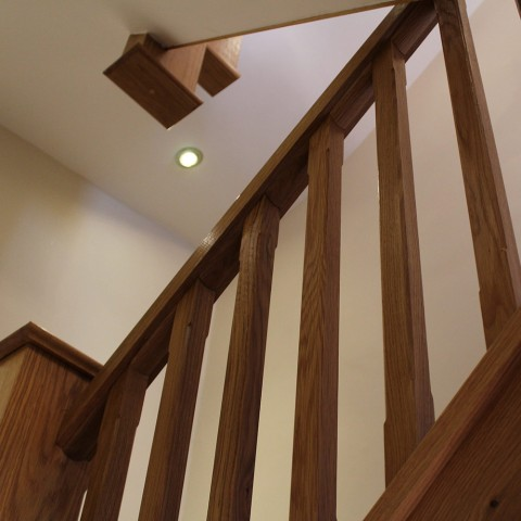 Interior Renovation Oak Staircase