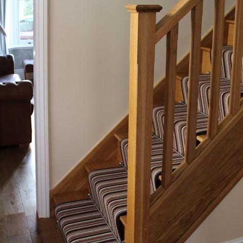 Interior Renovation Oak Staircase